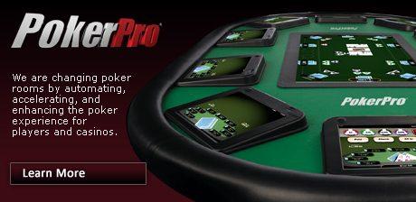 PokerPro table