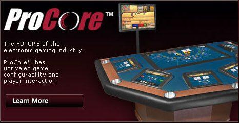 Procore Casino Game Table